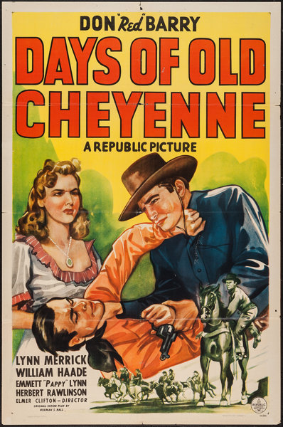 Days of Old Cheyenne