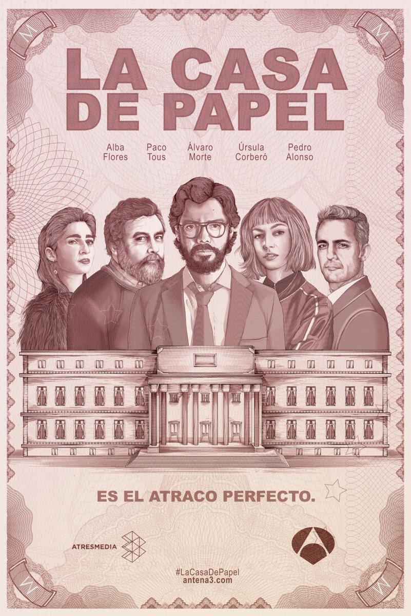 La casa de papel (Money Heist) (έως S05E05)